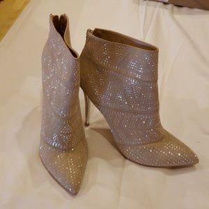 Thalia Sodi Alexandra Embellished Booties
